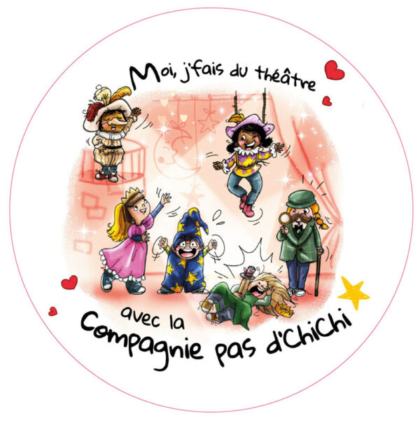 Sticker - Compagnie pas d'Chichi