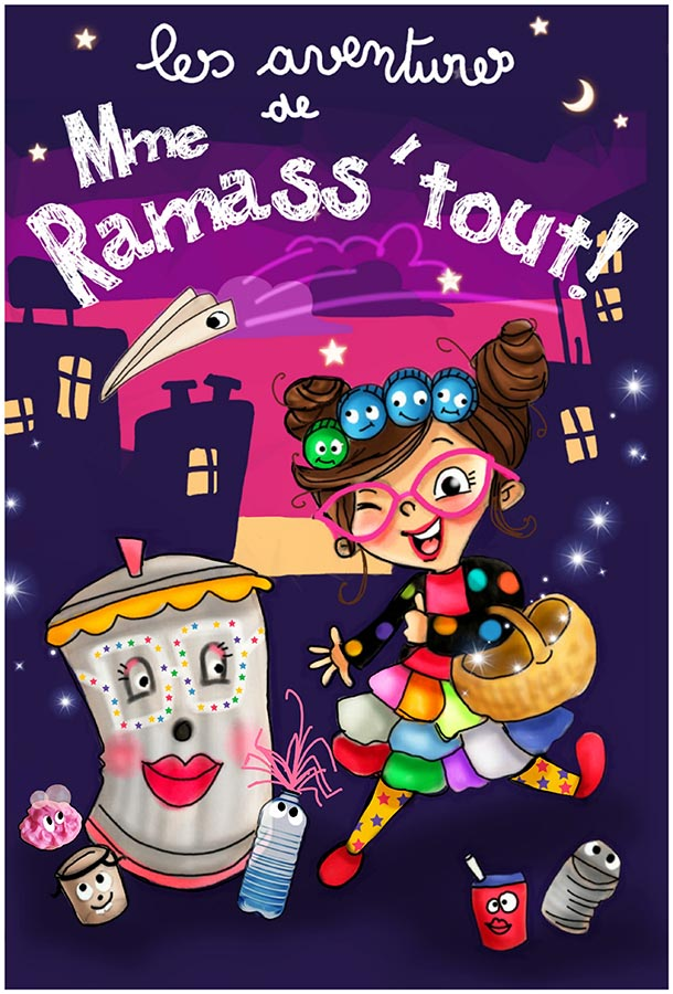 Les aventures de Mme Ramass'tout